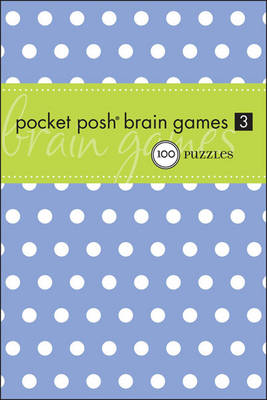 Pocket Posh Brain Games 3 (Paperback)