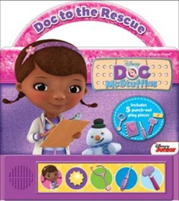 Doc McStuffins - DOC to the Rescue - Little Handle Book (Hardback)