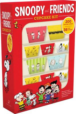 Snoopy and Friends Cupcake Kit: Decorate Your Cupcakes with Your Favorite Peanuts Characters (Kit)