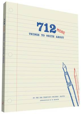 712 More Things to Write About (Record book)
