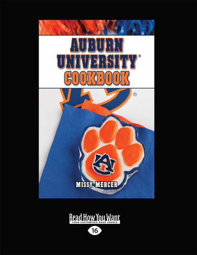 Auburn University(R) Cookbook (Paperback)
