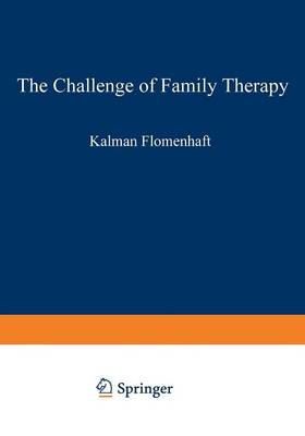 The Challenge of Family Therapy: A Dialogue for Child Psychiatric Educators - The Downstate Series of Research in Psychiatry and Psychology 3 (Paperback)