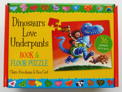 Dinosaurs Love Underpants Book and Jigsaw (Novelty book)