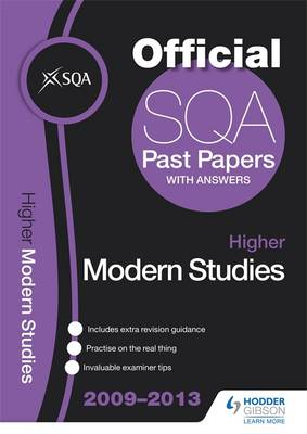 SQA Past Papers Higher Modern Studies 2013 (Paperback)