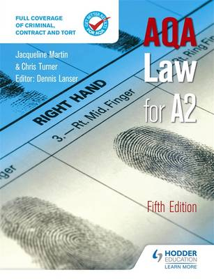 AQA Law for A2 (Paperback)