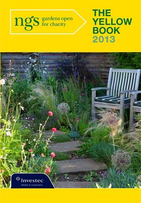 The Yellow Book 2013: National Garden Scheme: Gardens Open for Charity (Paperback)