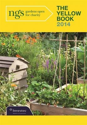 The Yellow Book 2014: The National Gardens Scheme (Paperback)