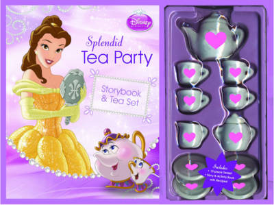 Disney Princess Tea Party (Paperback)