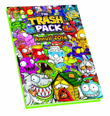 Cover Trash Pack 2014 Annual