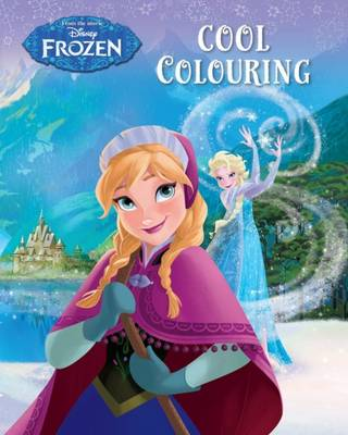 Disney Frozen Cool Colouring (Paperback)