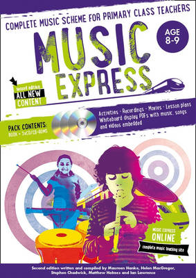 Music Express: Age 8-9: Complete Music Scheme for Primary Class Teachers - Music Express (Paperback)