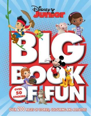 Disney Junior Big Book of Fun (Paperback)