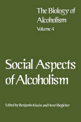 Social Aspects of Alcoholism (Paperback)