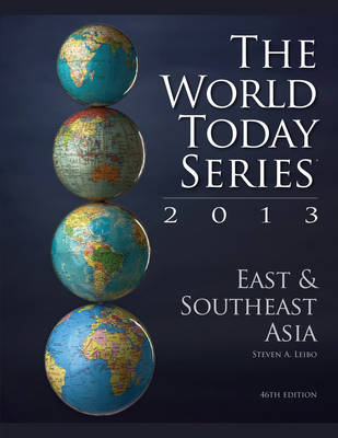 East and Southeast Asia 2013 - World Today (Paperback)