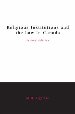 Religious Institutions and the Law (Paperback)