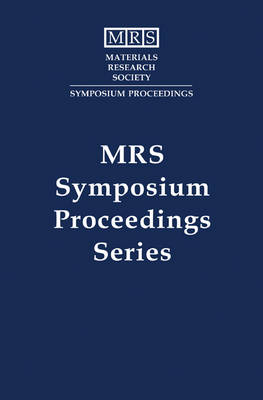 Synthesis/Characterization and Novel Applications of Molecular Sieve Materials - MRS Proceedings (Hardback)