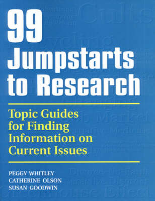 99 Jumpstarts to Research (Hardback)