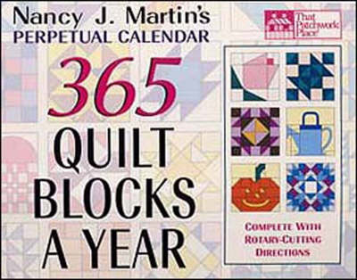 365 Quilt Blocks a Year (Spiral bound)