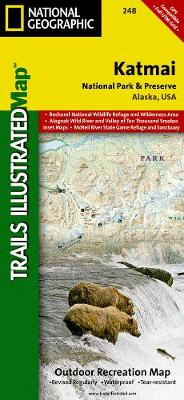 Katmai National Park And Preserve: Trails Illustrated National Parks (Sheet map, folded)