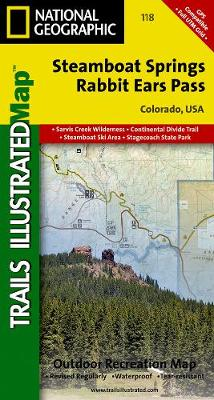 Steamboat Springs/Rabbit Ears Pass: Trails Illustrated (Sheet map, folded)