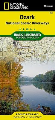 Ozark National Scenic Riverways: Trails Illustrated National Parks (Sheet map, folded)
