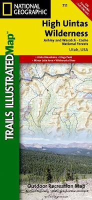 High Uintas Wilderness: Trails Illustrated Other Rec. Areas (Sheet map, folded)