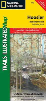 Hoosier National Forest: Trails Illustrated Other Rec. Areas (Sheet map, folded)