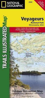 Voyageurs National Park: Trails Illustrated National Parks (Sheet map, folded)
