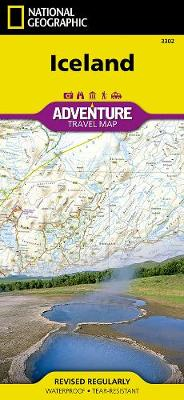 Iceland: Travel Maps International Adventure Map (Sheet map, folded)