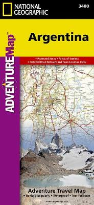 Argentina: Travel Maps International Adventure Map (Sheet map, folded)