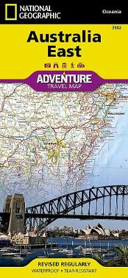 Australia East: Travel Maps International Adventure Map (Sheet map, folded)