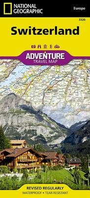 Switzerland: Travel Maps International Adventure Map (Sheet map, folded)
