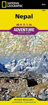 Nepal: Travel Maps International Adventure Map (Sheet map, folded)