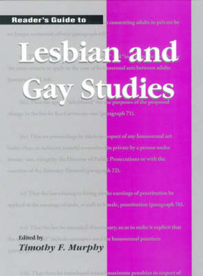 Reader's Guide to Lesbian and Gay Studies (Hardback)