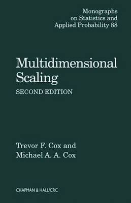 Multidimensional Scaling - Chapman & Hall/CRC Monographs on Statistics & Applied Probability 88 (Hardback)