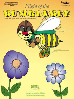 Flight of The Bumblebee for Trumpet & Piano (Sheet music)