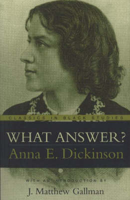 What Answer? (Paperback)