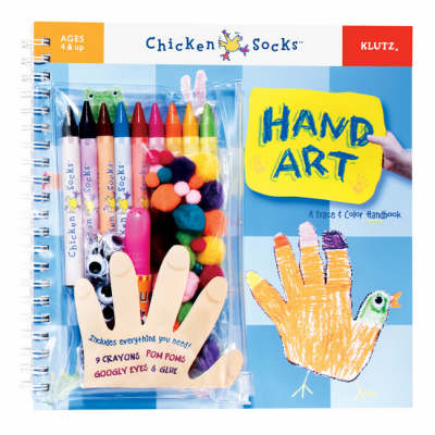 Hand Art: A Trace and Colour Handbook - Klutz Chicken Socks S. (Mixed media product)