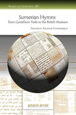 Sumerian Hymns from Cuneiform Texts in the British Museum – Analecta Gorgiana
