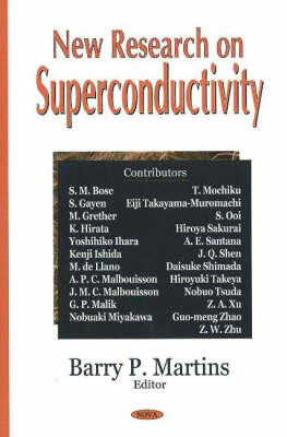 New Research on Superconductivity (Hardback)