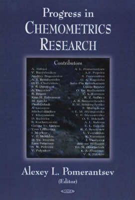 Progress in Chemometrics Research (Hardback)