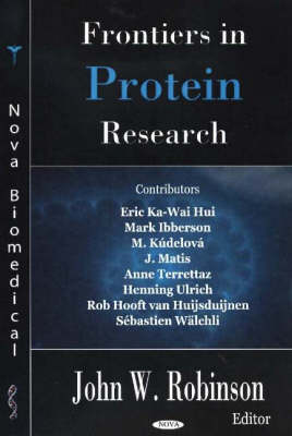 Frontiers in Protein Research (Hardback)