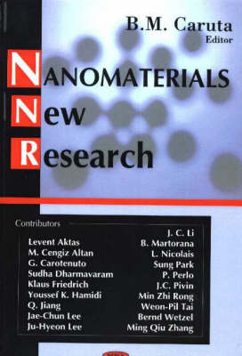 Nanomaterials: New Research (Hardback)