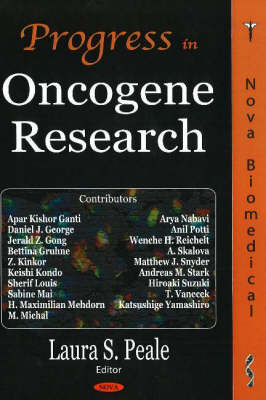 Progress in Oncogene Research (Hardback)