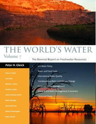Cover The World's Water 2011-2012: The Biennial Report on Freshwater Resources