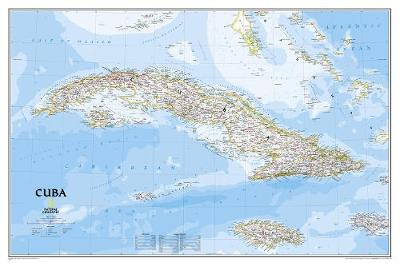 Cuba Classic, Tubed: Wall Maps Countries & Regions (Sheet map, rolled)