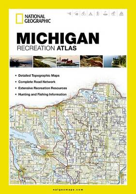 Michigan: State Recreation Atlas (Paperback)