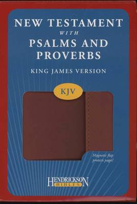 KJV New Testament with Psalms and Proverbs (Leather / fine binding)