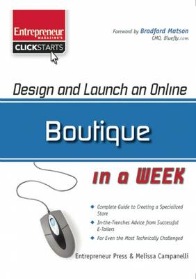 Design and Launch an Online Boutique in a Week - Clickstart Series (Paperback)