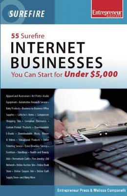 55 Surefire Internet Businesses You Can Start for Under $5000 (Paperback)